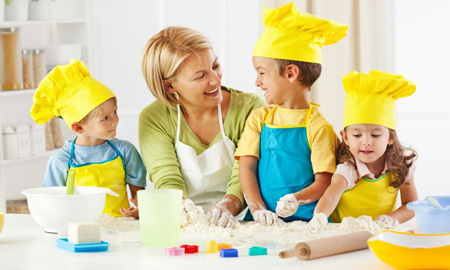 Kiddie Cooking Supplies for the Kitchen-Playground