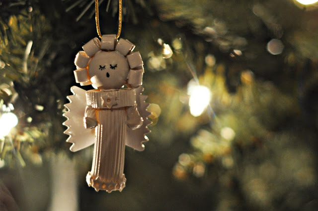 Pasta is not just for cooking, this can also be your Christmas Ornament!