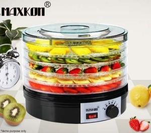 Maxkon Food Dehydrator with Adjustable Trays