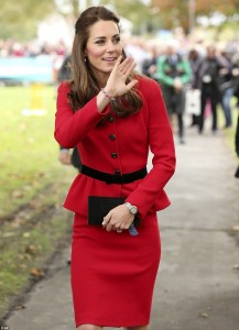 Kate wearng loom band