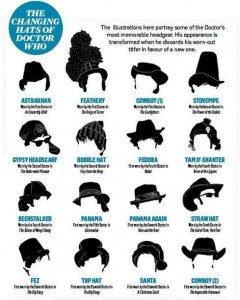 Dr Who hats