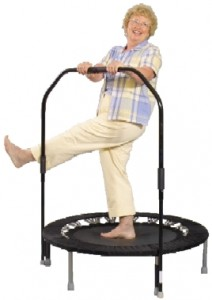 workout trampoline
