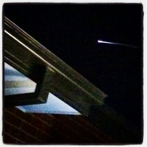 meteor over melbourne