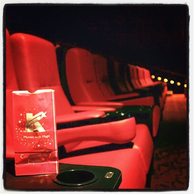 Garden-variety Etiquette: Movie Theatre Seating