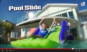 pool party slide