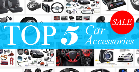 Top 5 Car Accessories On Sale Now At CrazySales!