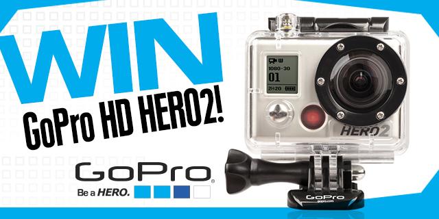 Win A FREE GoPro Camera!