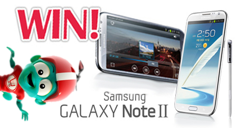 June Giveaway: Win a Samsung Galaxy Note II!