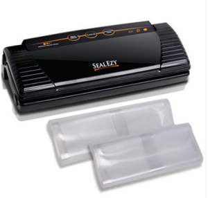 Food Vacuum Sealer Saver with Heat Strip Free 10 Bags