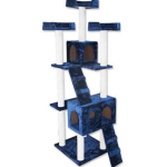 Cat Tree 7 Level 178cm Scratching Post Plush Material