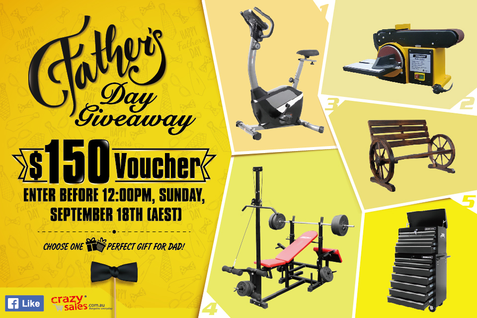 September Father's Day Giveaway Terms and Conditions