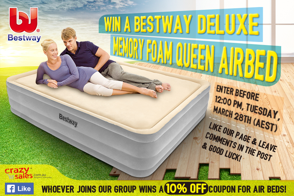 Bestway Air Bed Giveaway Terms and Conditions