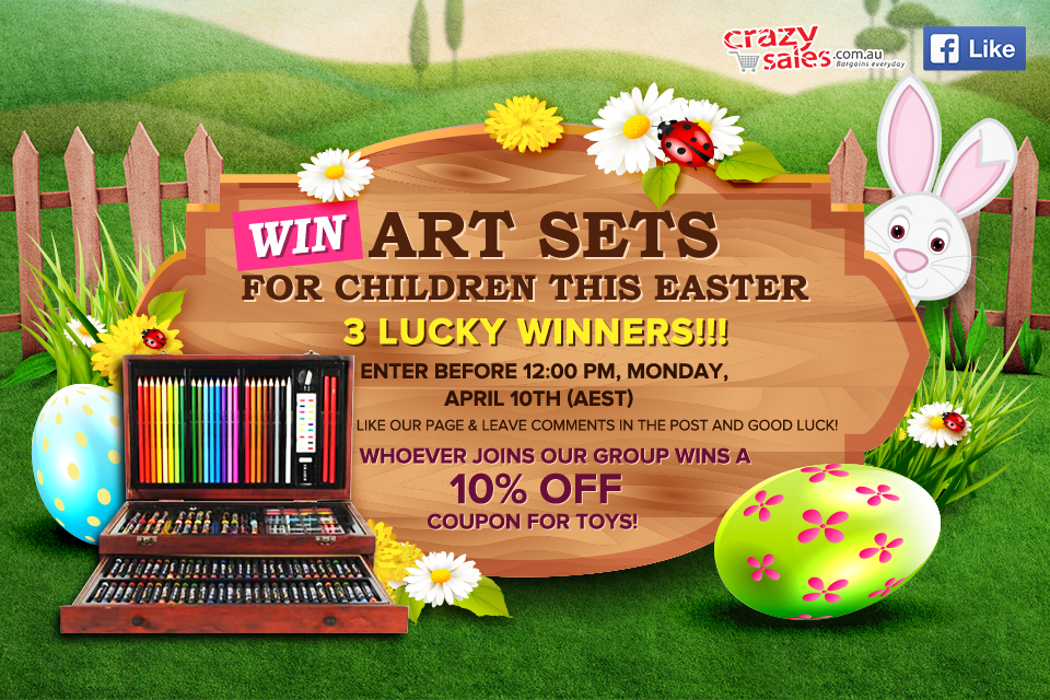 Easter Art Box Giveaway Terms and Conditions