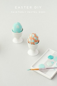 painterly easter eggs