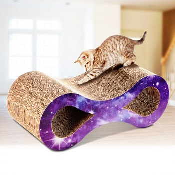 dual layer cat scratching post