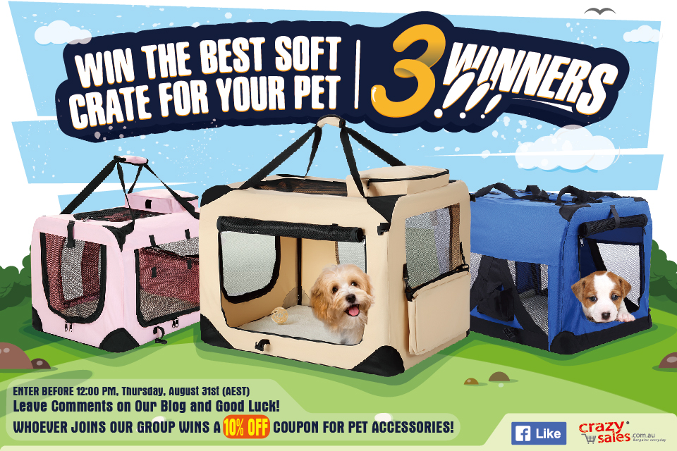2017 Soft Pet Crate Giveaway Terms and Conditions