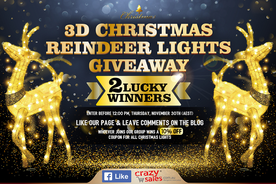 2017 Christmas Lights Giveaway Terms and Conditions